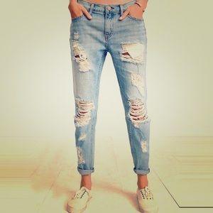 BDG high waist ripped jeans